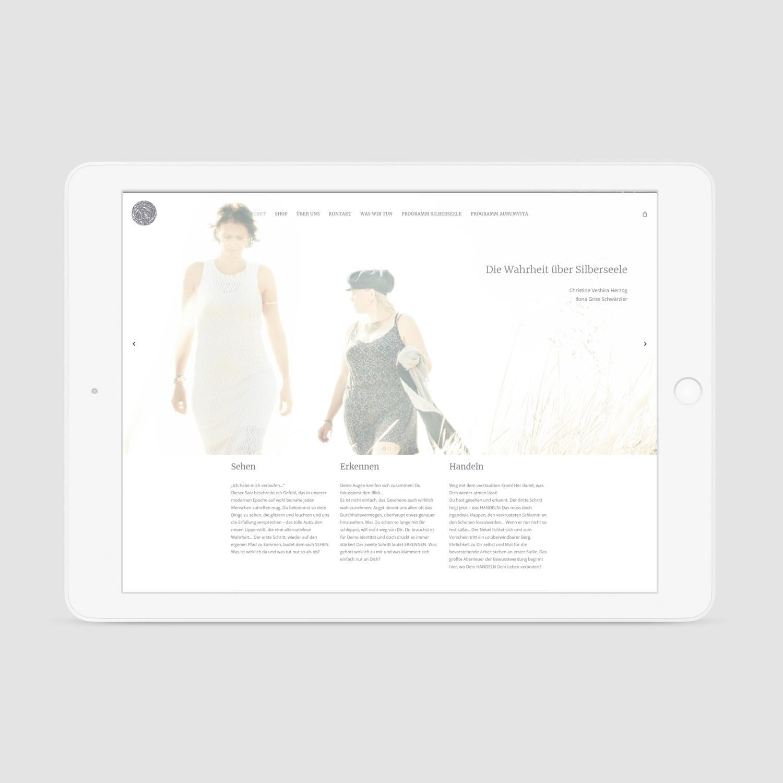 silberseele-Web-Mockup